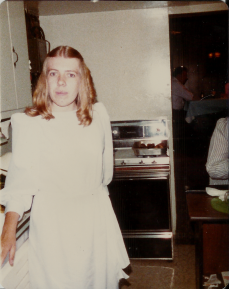 My Beautiful Mother! (She would probably kill me if she knew I posted a picture of her on the internet, but I've always thought she was one of the most beautiful women I know.)