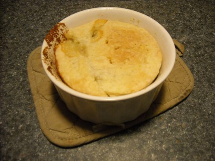 It works! Homemade chicken pot pie can be made in the microwave!