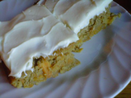 Ginger Carrot Cake with Lemon Cream Cheese Frosting