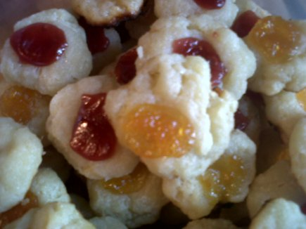 Lemon Ricotta Thumbprint Coolies